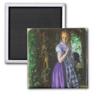 April Love - Arthur Hughes Fridge Magnets