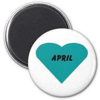 April Magnet