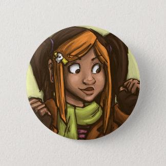 April muse pinback button