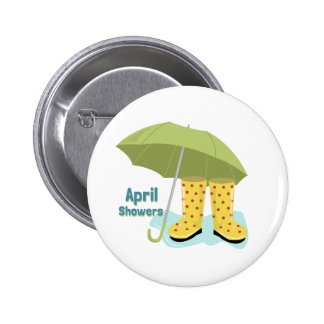 April Showers 2 Buttons