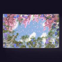 April Showers Banner