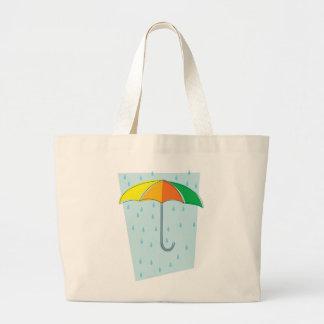 April Showers Brolly Jumbo Tote Bag