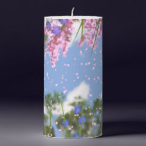 April Showers Candle