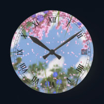 April Showers Clock