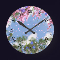 April Showers Clock