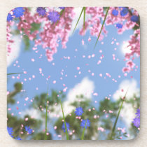 April Showers Cork Coasters