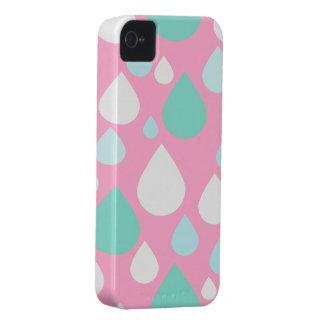 April Showers Design | Pink iPhone 4 Case-Mate Case