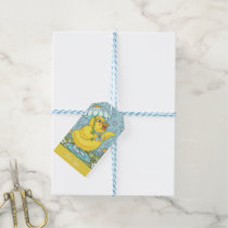 APRIL SHOWERS & MAY FLOWERS CHICK GIFT TAGS Set