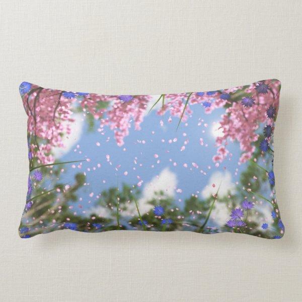 April Showers Pillow