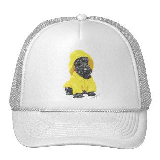 April Showers Scottish Terrier Mesh Hats