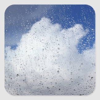 April Showers Square Sticker