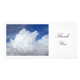 April Showers - Thank You Card