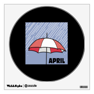 April Showers Wall Decal