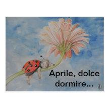 Aprile Postcard
