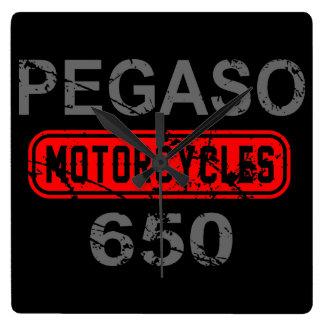 Aprilia Pegaso 650 Square Wall Clocks