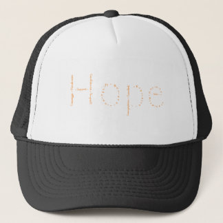 April's WoW - Hope - Orange Trucker Hat
