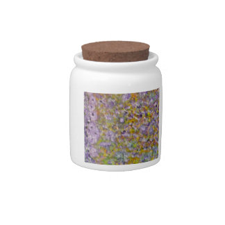 Apring Flowers Candy Jars