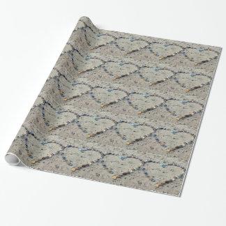 Aprisa cree la plantilla del papel de embalaje - papel de regalo