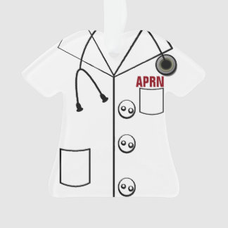 APRN LAB COAT ORNAMENT CHRISTMAS (CUSTOMIZABLE)