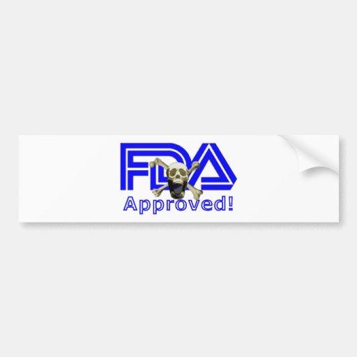 Aprobado por la FDA Etiqueta De Parachoque