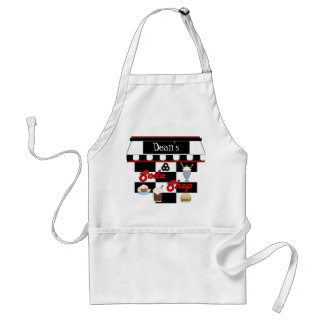 Apron Add Your Name Soda Shop