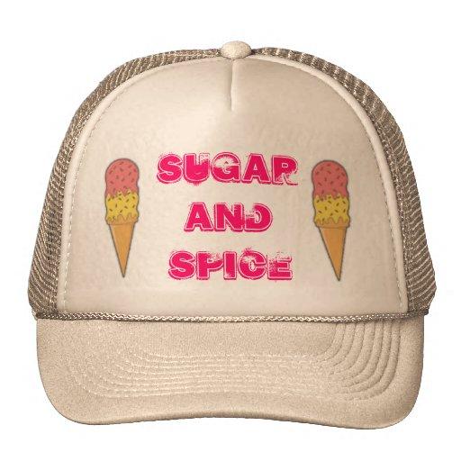apron, apron, Sugar and Spice Trucker Hat
