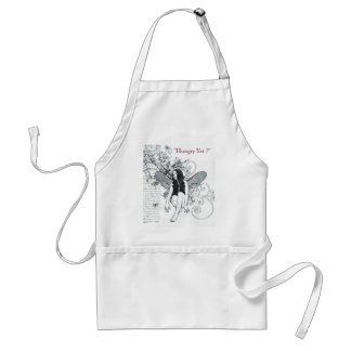 Apron Baking Scroll Fairy Apron