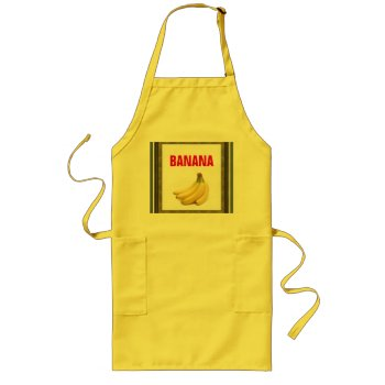 Apron Chefs Apron For Banana by creativeconceptss at Zazzle