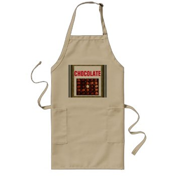 Apron Chefs Apron For Chocolate by creativeconceptss at Zazzle