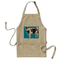 APRON CHEFS APRON FOR COW