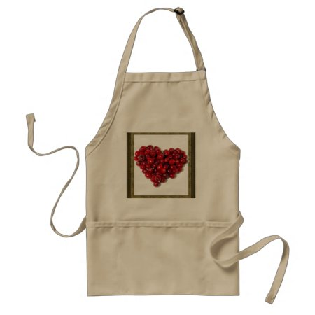 Apron Chefs Apron For Cranberries