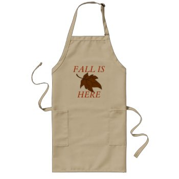 Apron Chefs Apron For Fall by creativeconceptss at Zazzle
