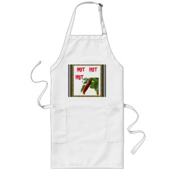 Apron Chefs Apron For Hot Chilies by creativeconceptss at Zazzle