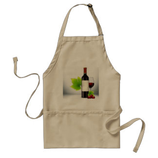 APRON CHEFS APRON FOR WINE AND CHEESE  KHAKI