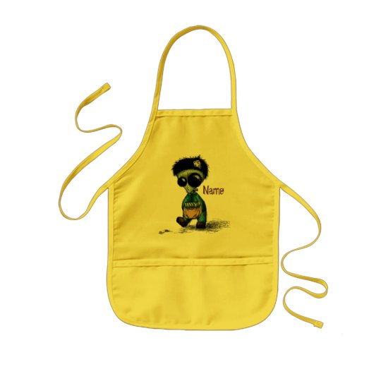 Apron Child's Craft Kids Painting Cooking Named