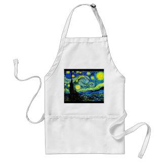 Apron-Classic/Vintage-Vincent Van Gogh 4 Adult Apron