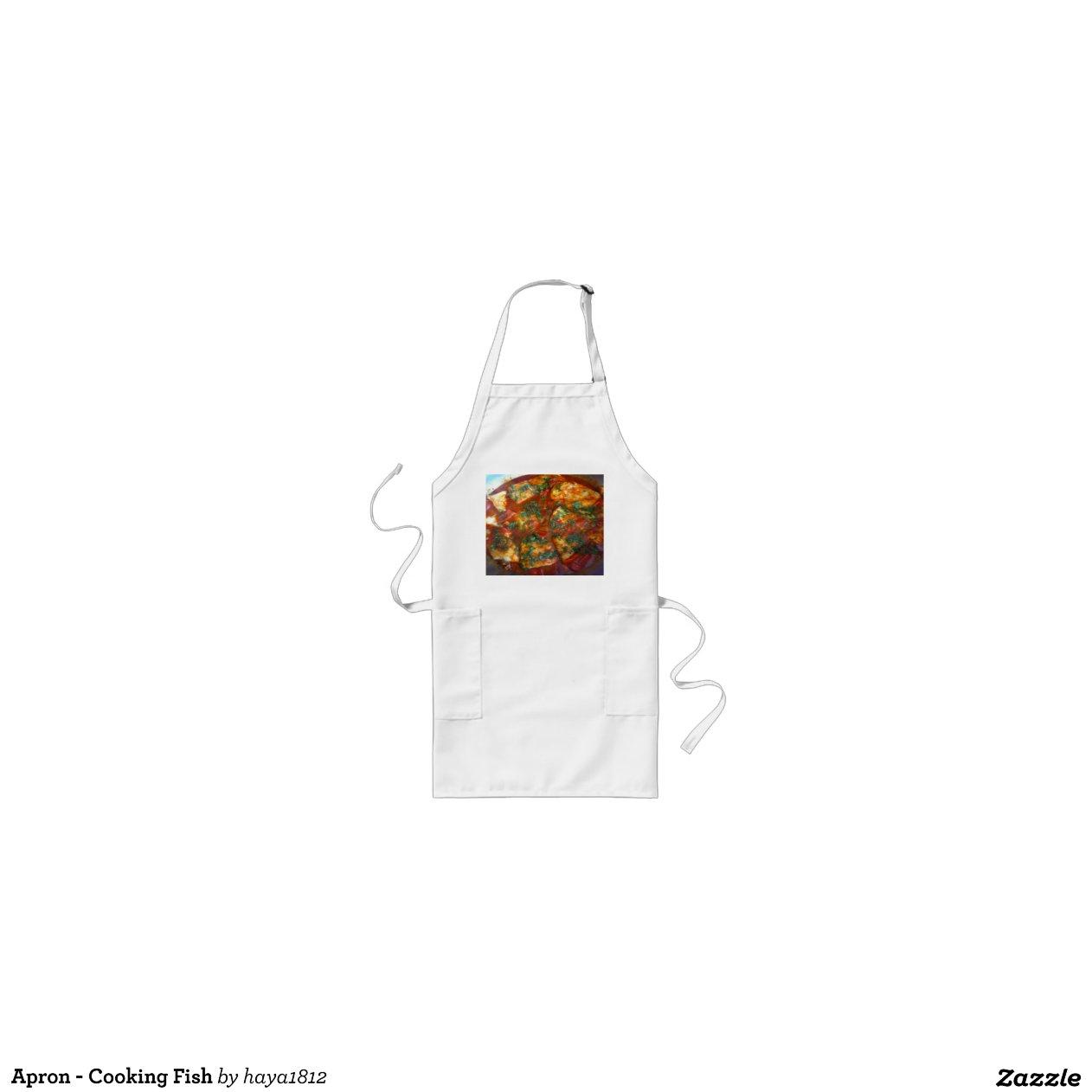 Apron Cooking Fish Zazzle