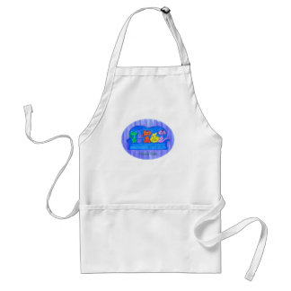 Apron-Couch Cats Adult Apron