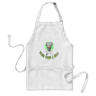 Apron Death from grill