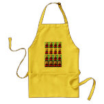 Apron Decorated with London Bus Graphic Design