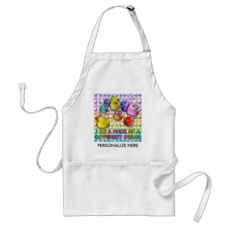 Apron - Duck of a Different Color - Rubber Duckies