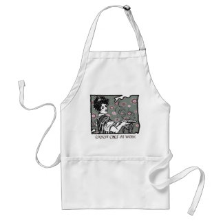 apron expert chef at work