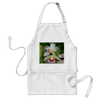 Apron - Fan Shaped Orchid