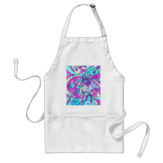 Apron Floral abstract background