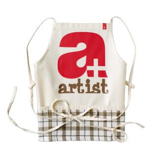 Apron for artists