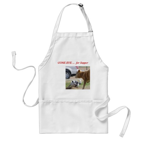 Apron for cattle dog herding enthusiasts