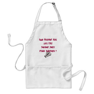 Apron for kitchen or barbeque humour