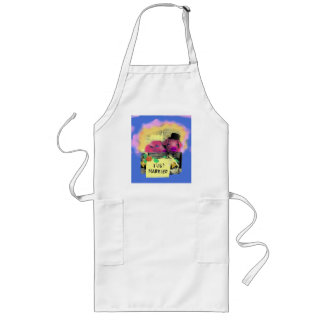 "apron ""funny pigs"""
