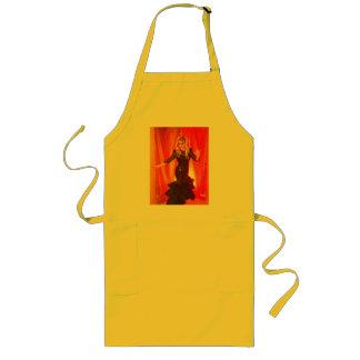 apron girl rave techno love