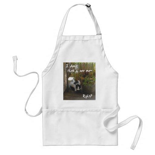 Apron- hidey cat adult apron